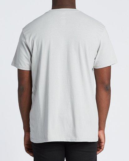 2 Repeat Short Sleeve T-Shirt Grey M4041BRE Billabong