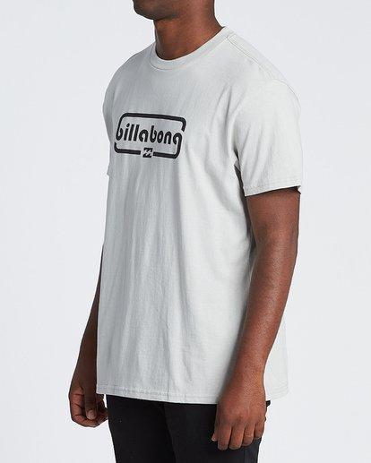 1 Repeat Short Sleeve T-Shirt Grey M4041BRE Billabong