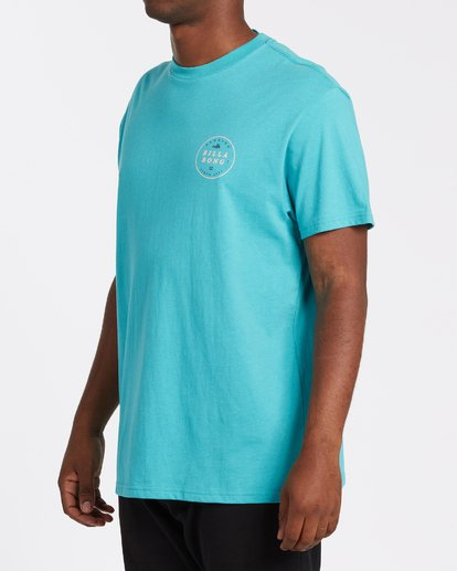 1 Rotor Florida Short Sleeve T-Shirt Green M4041BRF Billabong