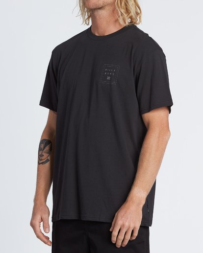 1 Stacked Reflective Camo Short Sleeve T-Shirt Black M4041BSE Billabong