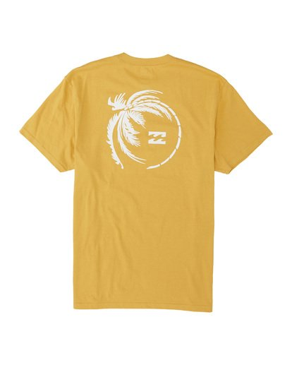 4 Storm Short Sleeve T-Shirt Yellow M4041BSM Billabong
