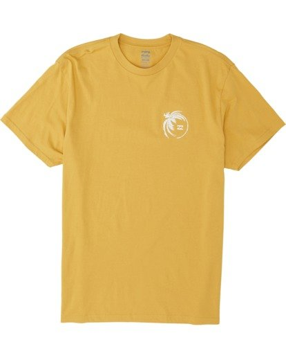 3 Storm Short Sleeve T-Shirt Yellow M4041BSM Billabong