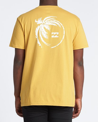 2 Storm Short Sleeve T-Shirt Yellow M4041BSM Billabong