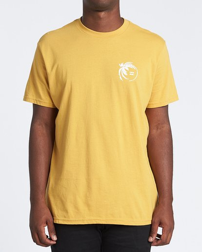 0 Storm Short Sleeve T-Shirt Yellow M4041BSM Billabong