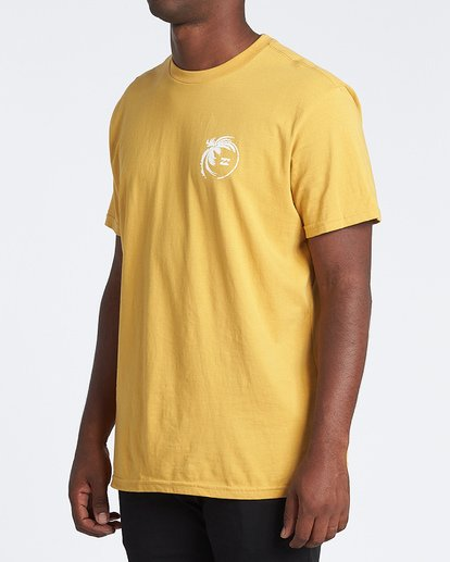 1 Storm Short Sleeve T-Shirt Yellow M4041BSM Billabong