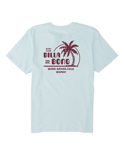 4 Social Club Short Sleeve T-Shirt Blue M4041BSO Billabong