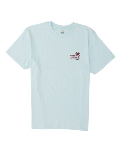 3 Social Club Short Sleeve T-Shirt Blue M4041BSO Billabong