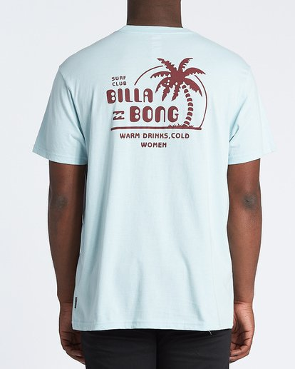 2 Social Club Short Sleeve T-Shirt Blue M4041BSO Billabong