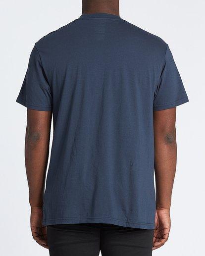 2 Stacker Short Sleeve T-Shirt Blue M4041BSR Billabong