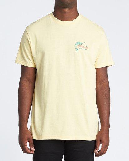 0 Surf Supply Short Sleeve T-Shirt Yellow M4041BSU Billabong