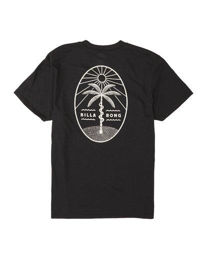 4 Treesnake Short Sleeve T-Shirt Black M4041BTS Billabong