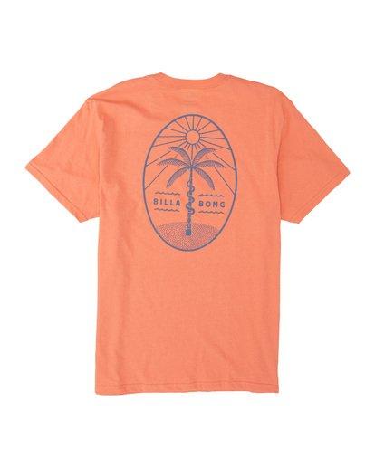 4 Treesnake Short Sleeve T-Shirt Pink M4041BTS Billabong
