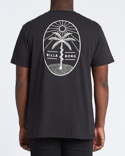 2 Treesnake Short Sleeve T-Shirt Black M4041BTS Billabong