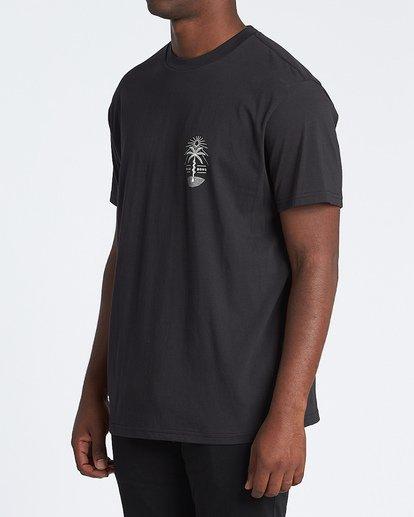 1 Treesnake Short Sleeve T-Shirt Black M4041BTS Billabong