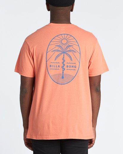 2 Treesnake Short Sleeve T-Shirt Pink M4041BTS Billabong