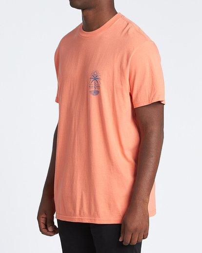 1 Treesnake Short Sleeve T-Shirt Pink M4041BTS Billabong