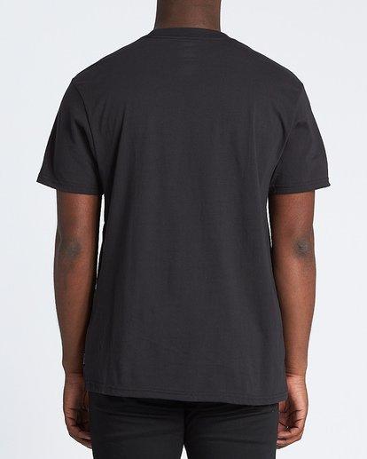 2 Team Wave Short Sleeve T-Shirt Black M4041BTW Billabong