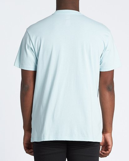 2 Team Wave Short Sleeve T-Shirt Blue M4041BTW Billabong