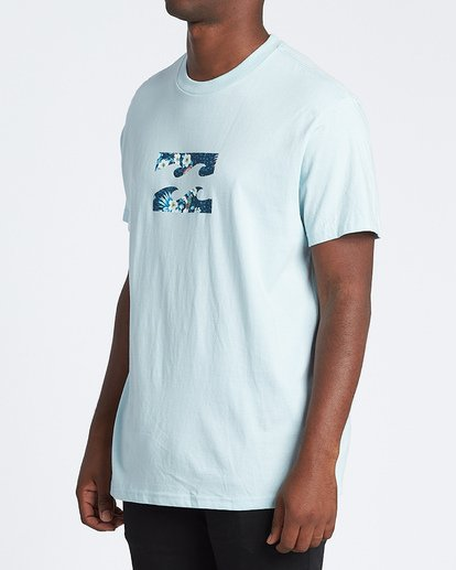 1 Team Wave Short Sleeve T-Shirt Blue M4041BTW Billabong