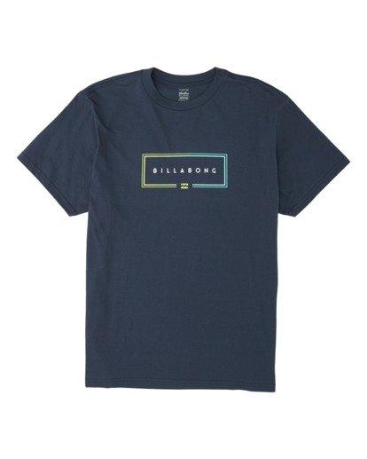 3 Union Short Sleeve T-Shirt Blue M4041BUN Billabong