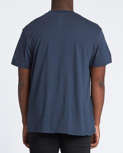 2 Union Short Sleeve T-Shirt Blue M4041BUN Billabong