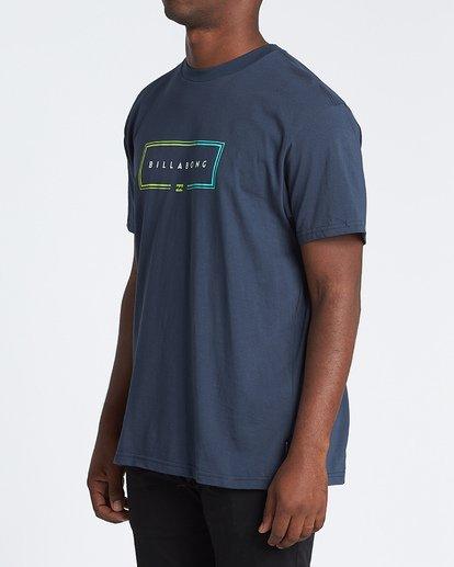 1 Union Short Sleeve T-Shirt Blue M4041BUN Billabong