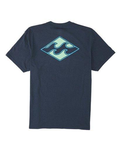 4 Warchild Short Sleeve T-Shirt Blue M4041BWA Billabong
