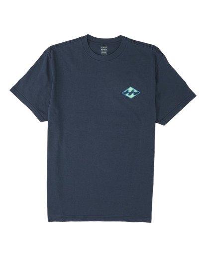 3 Warchild Short Sleeve T-Shirt Blue M4041BWA Billabong