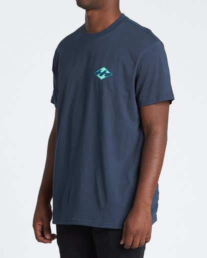 1 Warchild Short Sleeve T-Shirt Blue M4041BWA Billabong