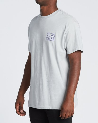 1 Warchild Short Sleeve T-Shirt Grey M4041BWA Billabong