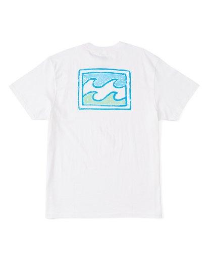 1 Warchild Short Sleeve T-Shirt White M4041BWE Billabong