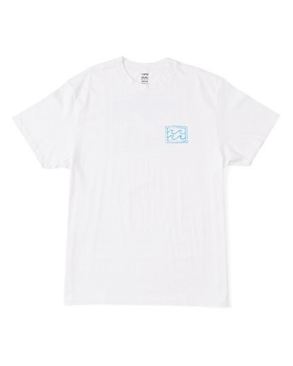 0 Warchild Short Sleeve T-Shirt White M4041BWE Billabong