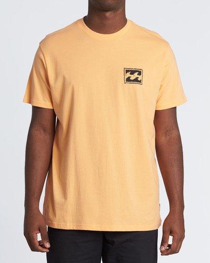 0 Warchild Short Sleeve T-Shirt Grey M4041BWE Billabong