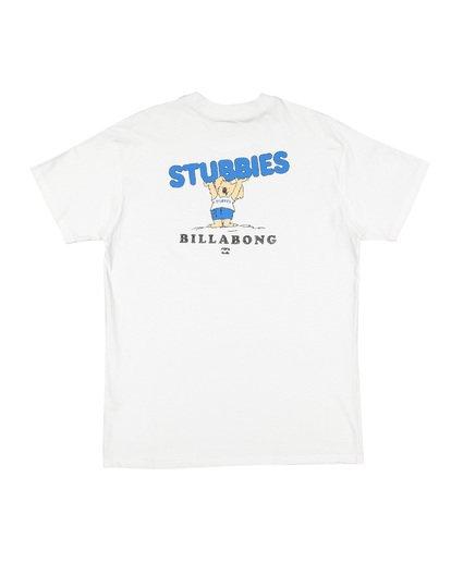 3 Stubbies Koala Short Sleeve T-Shirt White M4041BXR Billabong
