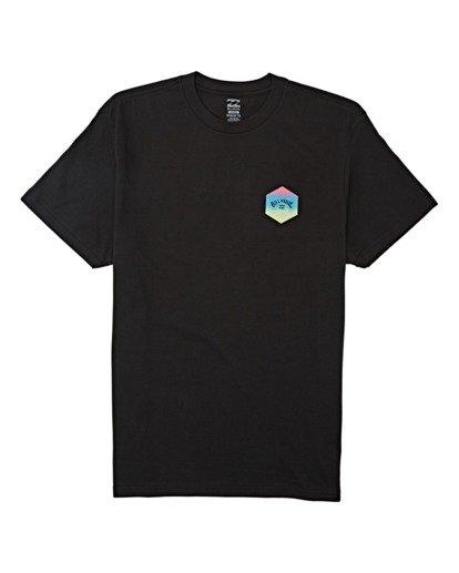 3 Access Short Sleeve T-Shirt Black M4042BAC Billabong