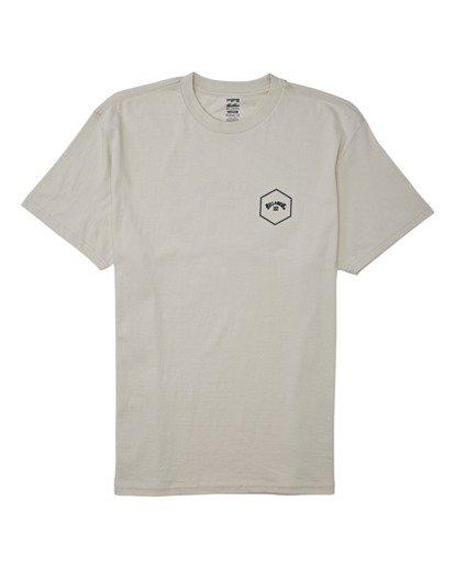 3 Access Short Sleeve T-Shirt Brown M4042BAC Billabong