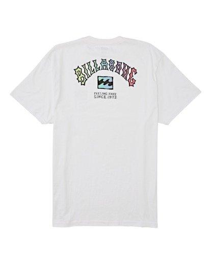 4 Arch Short Sleeve T-Shirt White M4042BAR Billabong
