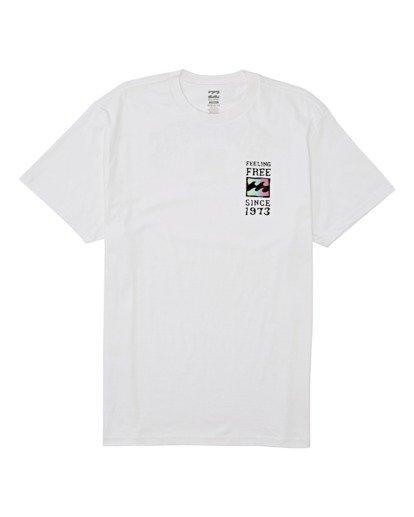 3 Arch Short Sleeve T-Shirt White M4042BAR Billabong