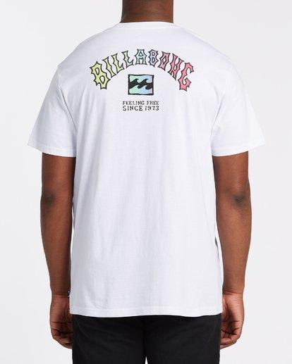 2 Arch Short Sleeve T-Shirt White M4042BAR Billabong
