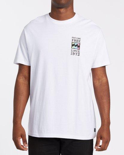 0 Arch Short Sleeve T-Shirt White M4042BAR Billabong