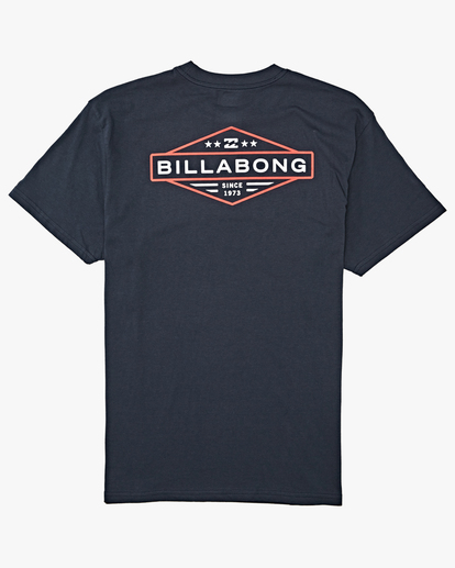 6 Autoshop Short Sleeve T-Shirt Blue M4042BAU Billabong