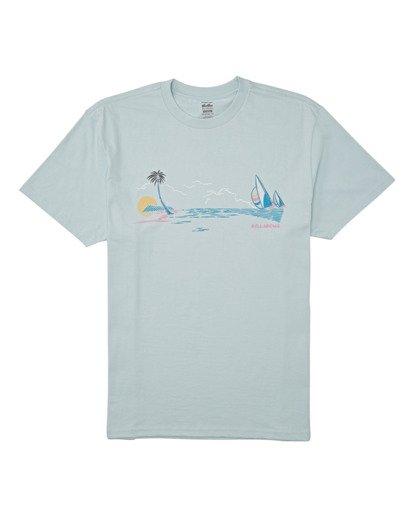 3 Avenue Short Sleeve T-Shirt Blue M4042BAV Billabong