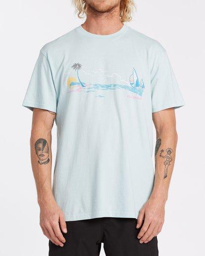 0 Avenue Short Sleeve T-Shirt Blue M4042BAV Billabong
