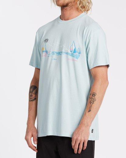 1 Avenue Short Sleeve T-Shirt Blue M4042BAV Billabong