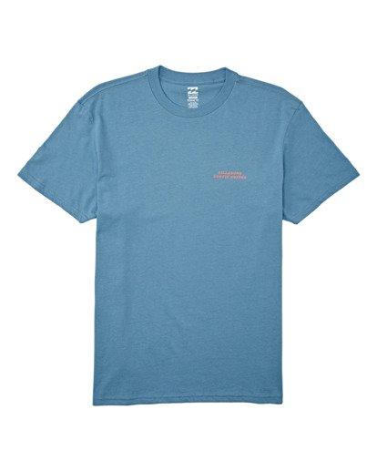 3 Bless The Booze Short Sleeve T-Shirt Grey M4042BBB Billabong