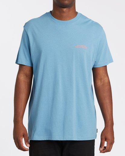0 Bless The Booze Short Sleeve T-Shirt Grey M4042BBB Billabong