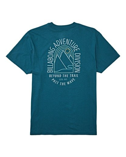 4 Beyond Short Sleeve T-Shirt Blue M4042BBE Billabong