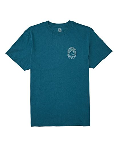 3 Beyond Short Sleeve T-Shirt Blue M4042BBE Billabong
