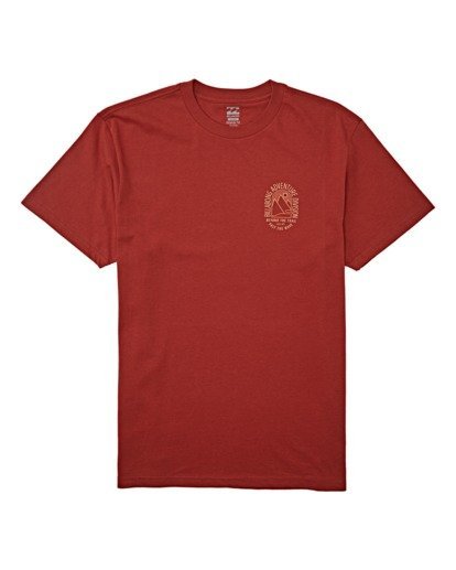 3 Beyond Short Sleeve T-Shirt Brown M4042BBE Billabong