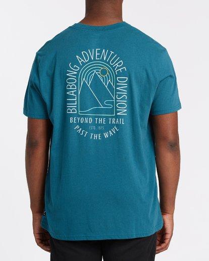 2 Beyond Short Sleeve T-Shirt Blue M4042BBE Billabong